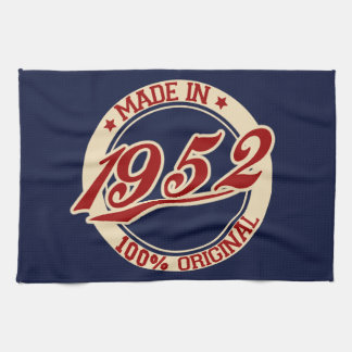 Made In 1952 Towel