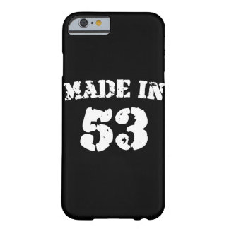 Made In 1953 iPhone 6/6s Barely There iPhone 6 Case