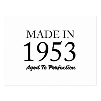 Made In 1953 Postcard