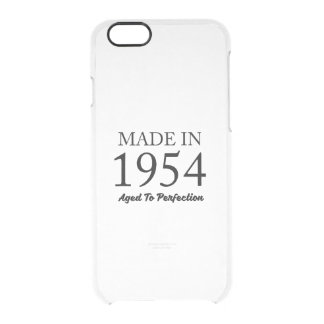 Made In 1954 Clear iPhone 6/6S Case