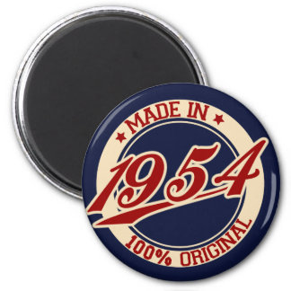 Made In 1954 Magnets