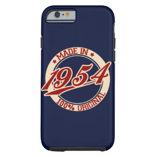 Made In 1954 Tough iPhone 6 Case