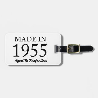 Made In 1955 Bag Tag