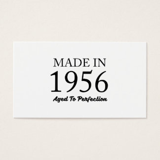 Made In 1956 Business Card