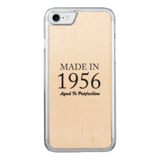 Made In 1956 Carved iPhone 8/7 Case