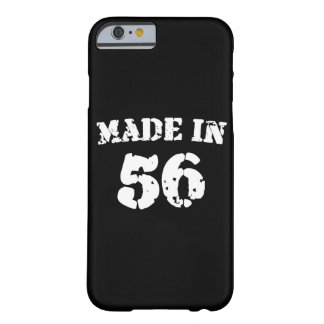 Made In 1956 iPhone 6/6s Barely There iPhone 6 Case