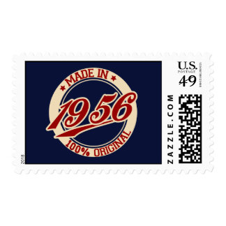 Made In 1956 Postage Stamps