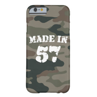 Made In 1957 iPhone 6/6s Barely There iPhone 6 Case