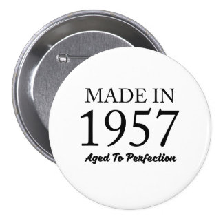 Made In 1957 Pinback Button