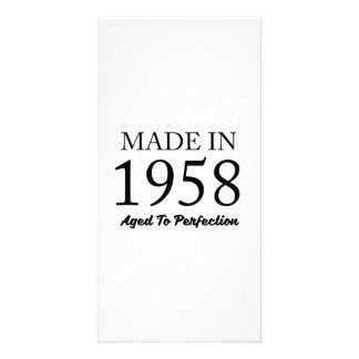 Made In 1958 Card