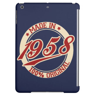 Made In 1958 Case For iPad Air
