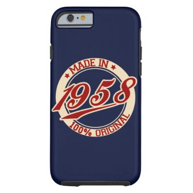 Made In 1958 iPhone 6/6s Tough iPhone 6 Case