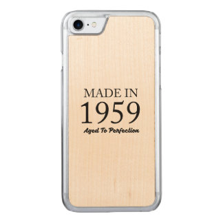 Made In 1959 Carved iPhone 7 Case