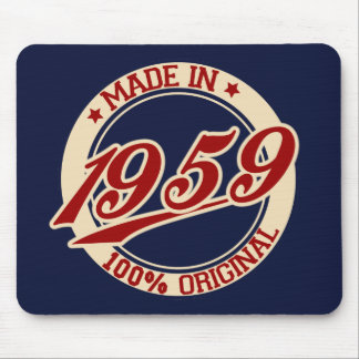 Made In 1959 Mouse Pad