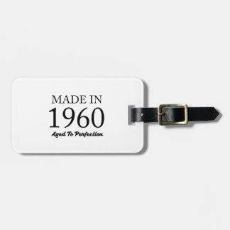 Made In 1960 Luggage Tag