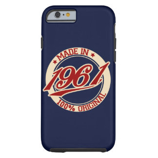 Made In 1961 Tough iPhone 6 Case