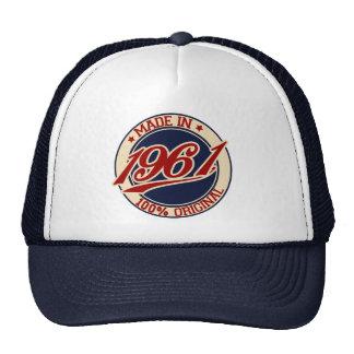 Made In 1961 Trucker Hat