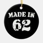 Made In 1962 Christmas Ornaments