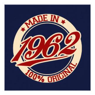 Made In 1962 Personalized Invite