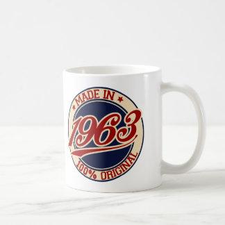 Made In 1963 Classic White Coffee Mug