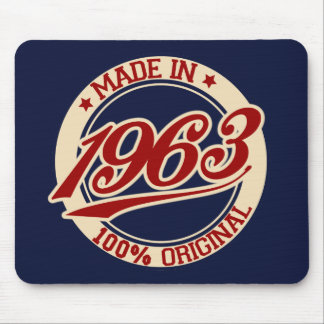 Made In 1963 Mouse Pad