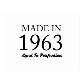 Made In 1963 Postcard