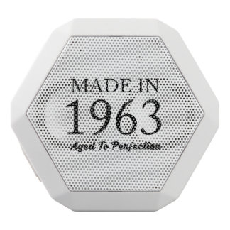 Made In 1963 White Bluetooth Speaker