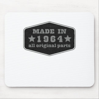 made in 1964 all original parts tshirts.png mousepad