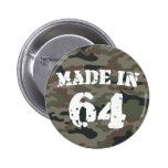Made In 1964 Buttons