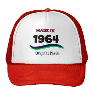 Made in 1964, Original Parts Hat
