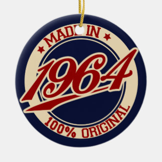 Made In 1964 Christmas Tree Ornament