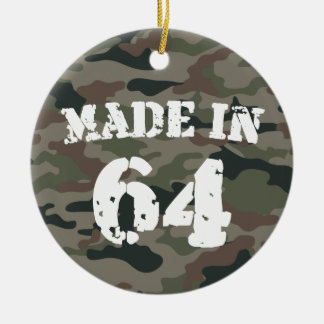 Made In 1964 Ornaments