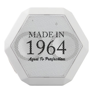 Made In 1964 White Bluetooth Speaker
