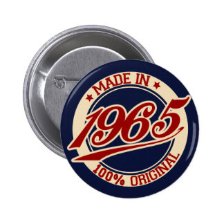 Made In 1965 2 Inch Round Button