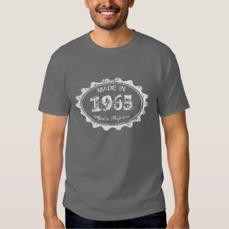 Made in 1965 Aged to perfection Birthday t shirt