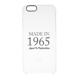 Made In 1965 Clear iPhone 6/6S Case