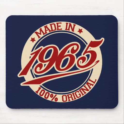 Made In 1965 Mousepad