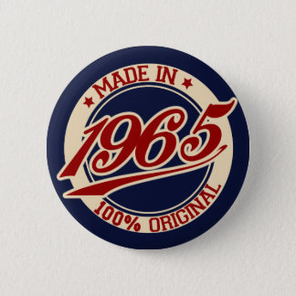 Made In 1965 Pinback Button