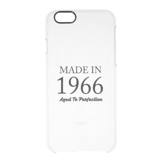 Made In 1966 Clear iPhone 6/6S Case