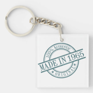 Made in 1966 keychain