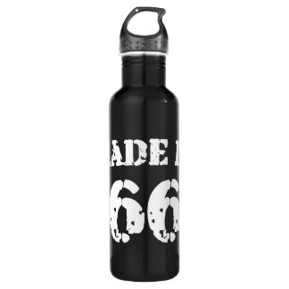 Made In 1966 Water Bottle