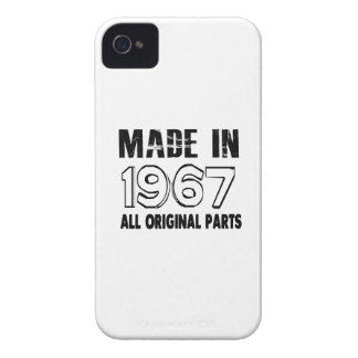 Made In 1967 All Original Parts Case-Mate iPhone 4 Cases