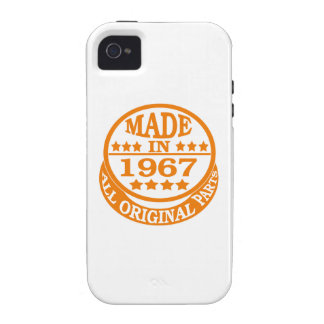 Made in 1967 all original parts Case-Mate iPhone 4 covers