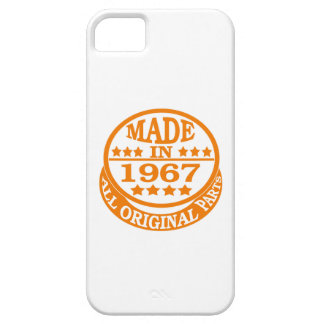 Made in 1967 all original parts iPhone 5 cases