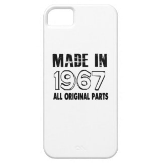 Made In 1967 All Original Parts iPhone 5 Covers