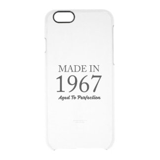 Made In 1967 Clear iPhone 6/6S Case