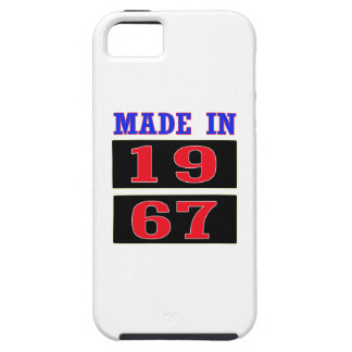 Made in 1967 iPhone 5 cover