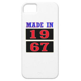 Made in 1967 iPhone 5 covers