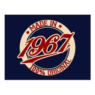 Made In 1967 Postcard