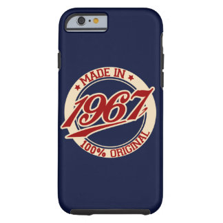 Made In 1967 Tough iPhone 6 Case